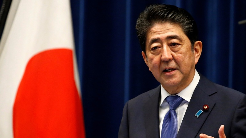 Japanese leader Shinzo Abe calls a snap election