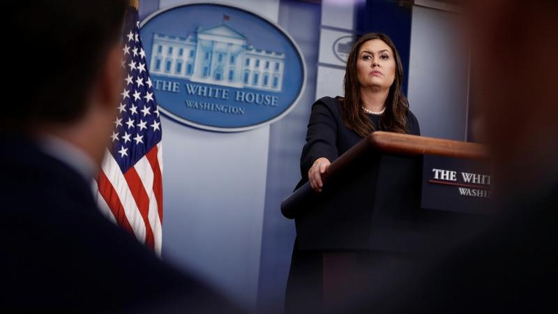 VERBATIM: White House Press Secretary spars with press over NFL protests