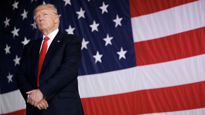 Trump calls for NFL ban on kneeling during anthem