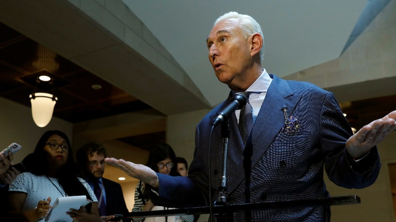 Trump ally Roger Stone denies Russian collusion