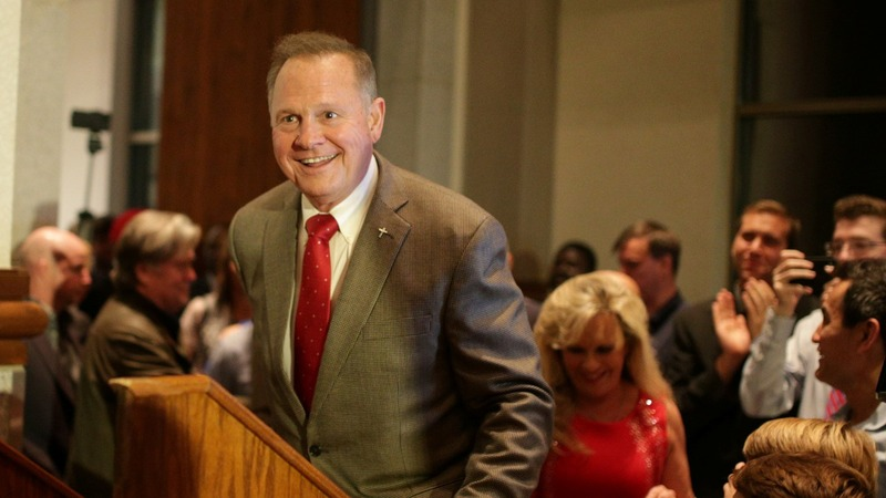 Moore wins AL Senate primary over Trump-backed rival