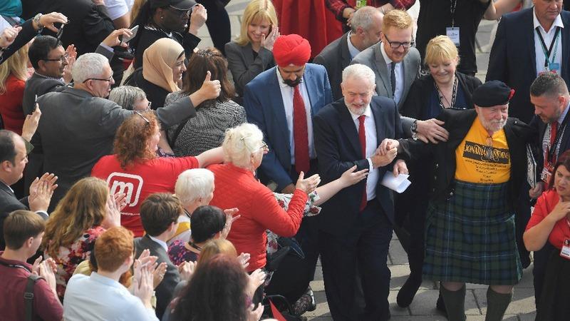 VERBATIM: UK's Corbyn says Labour is on 'threshold of power'