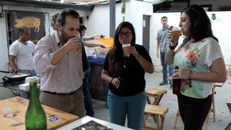 Demand for craft beer amid crisis in Venezuela