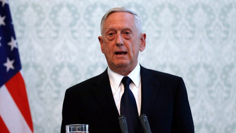 Kabul airport attacked hours after Mattis arrival