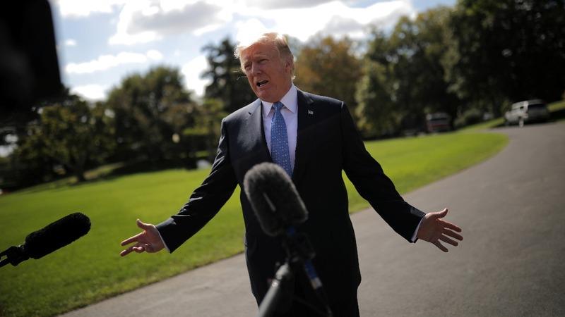 VERBATIM: Trump denies health care push is dead