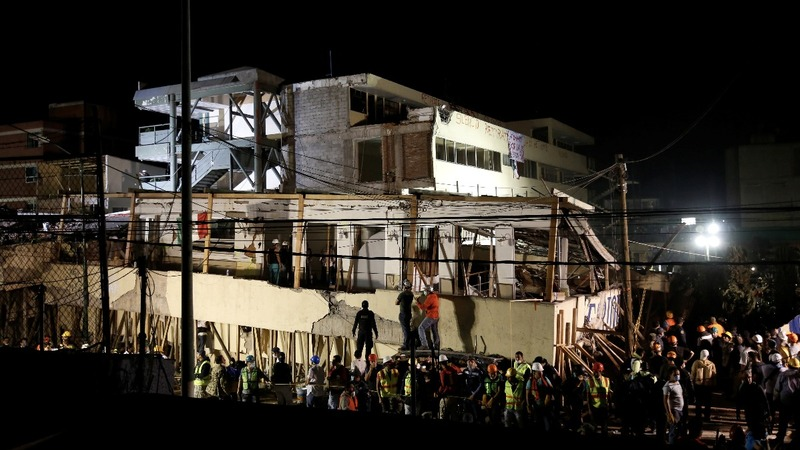 Deadly Mexico school collapse tied to substandard construction
