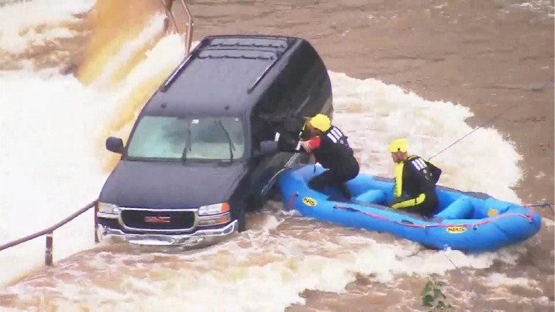 INSIGHT: Woman driver rescued from Oklahoma City lake