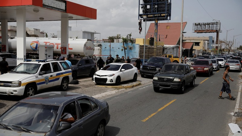 INSIGHT: Massive lines for gas in Puerto Rico