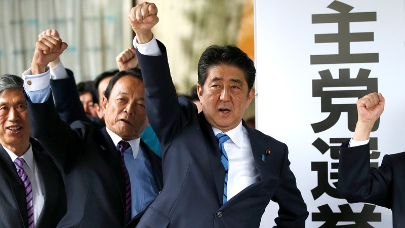 Japan dissolves parliament, calling snap election