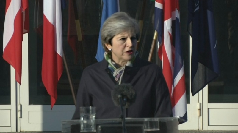 VERBATIM: Britain 'committed' to EU security - UK PM