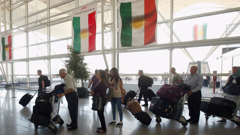 Flight ban imposed on Iraq's Kurdish region after vote