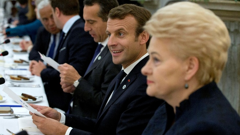 Macron's EU vision faces summit reality check