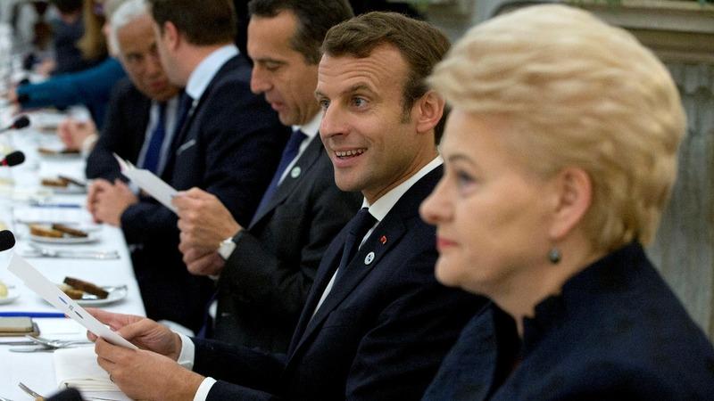 Macron's EU vision faces summit reality check