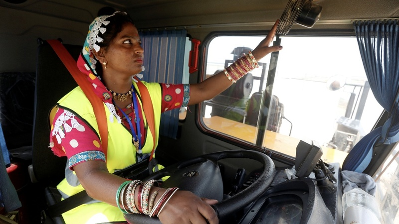 INSIGHT: Pakistani women break barriers as truck drivers