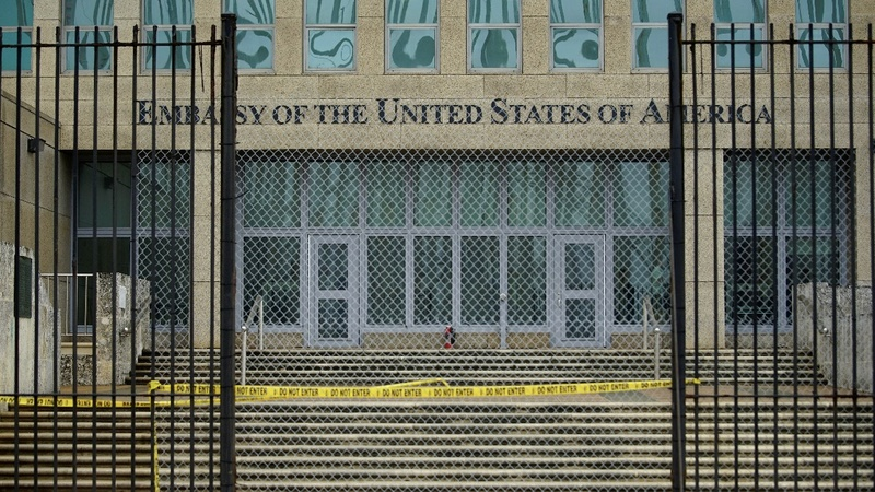 U.S. orders partial evacuation of Havana embassy staff
