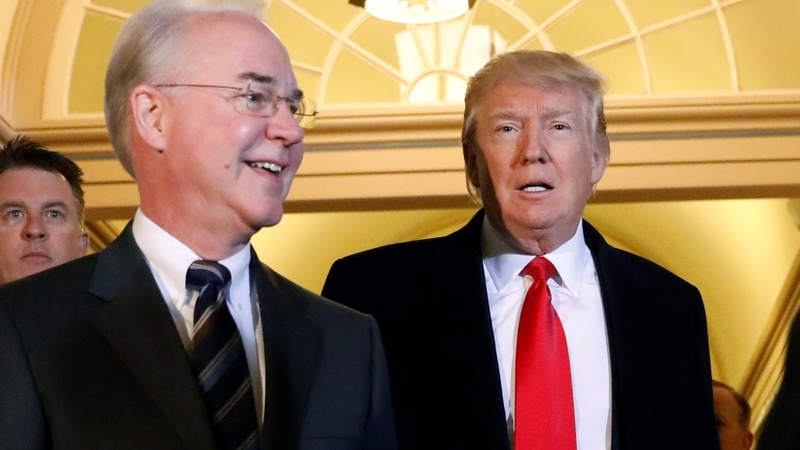 Tom Price resigns after private plane uproar