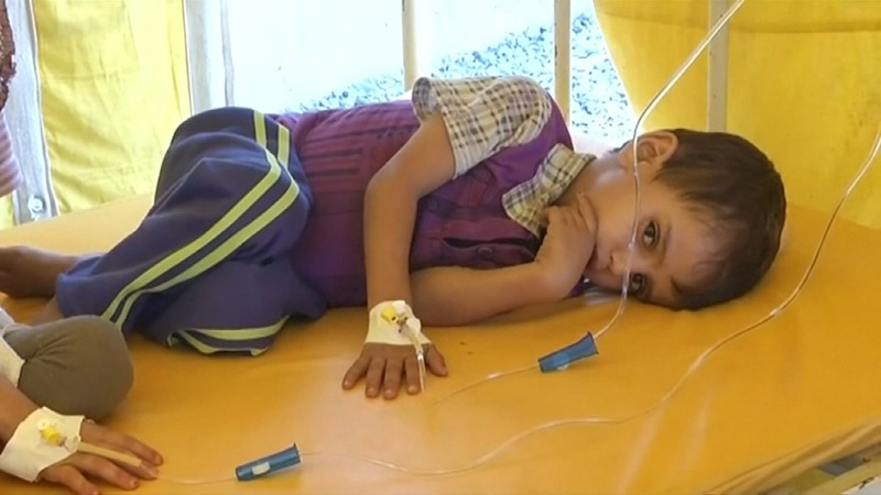 Yemen cholera cases could hit 1 million by year end
