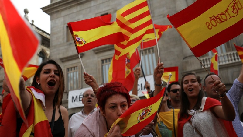 Tension high in Spain over Catalan independence vote