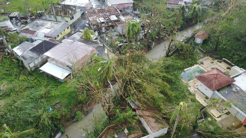 A reporter's first look at San Juan since Hurricane Maria