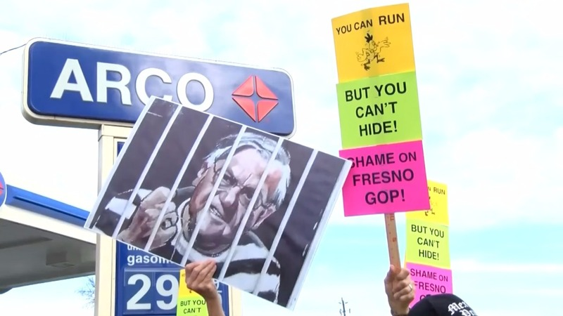 Arpaio appearance sparks protests in California