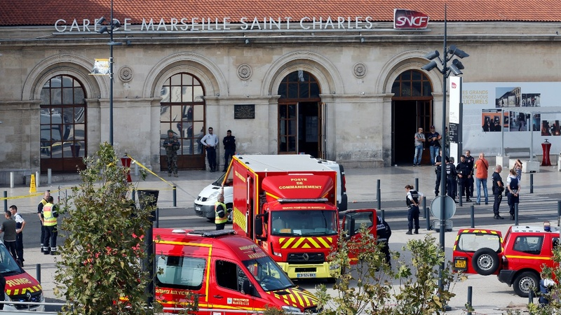 Attack at Marseille train station kills two