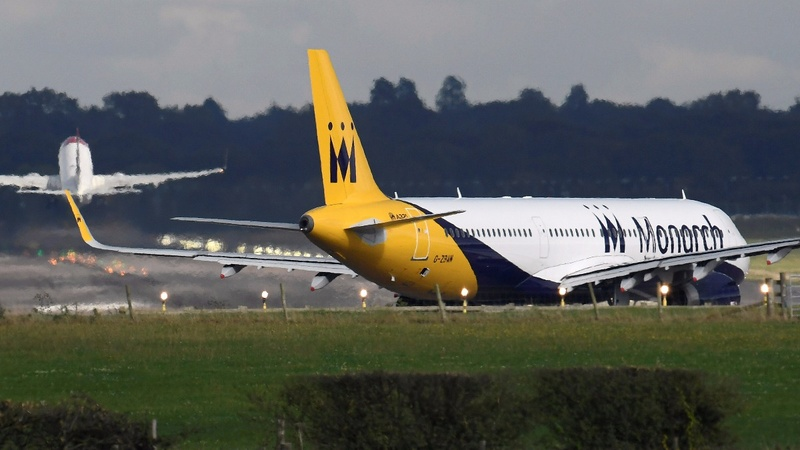 Britain's Monarch Airlines goes bust, thousands stranded