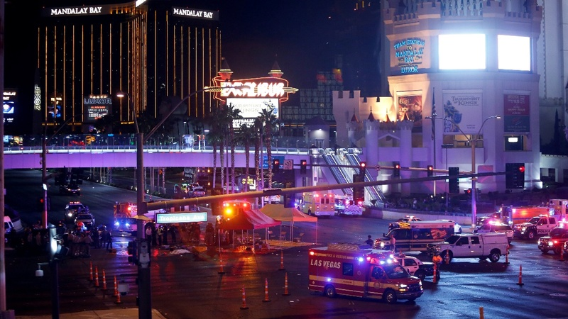 Multiple casualties in Las Vegas shooting