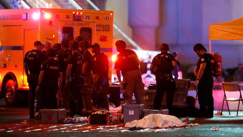 Shooter kills at least 58 at Vegas concert