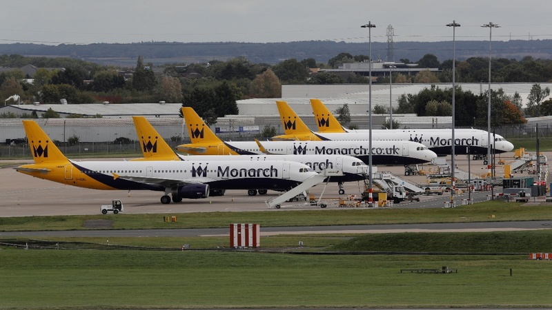 UK airline Monarch goes bust in bumpy market