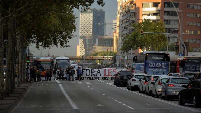 Catalan referendum violence sparks strikes