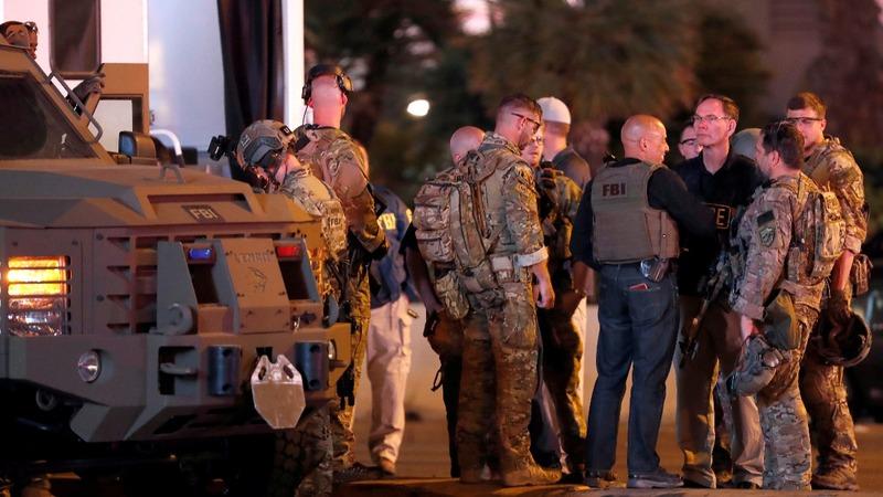 VERBATIM: Police radios capture response to Las Vegas shooting