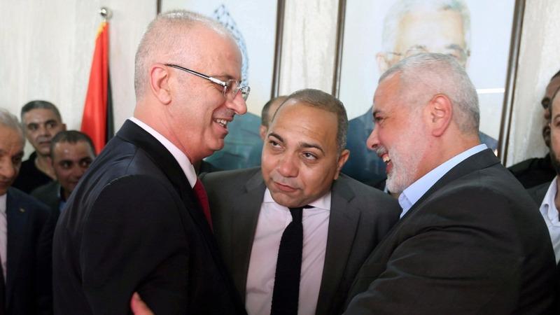 Cabinet meeting narrows Palestinian rift