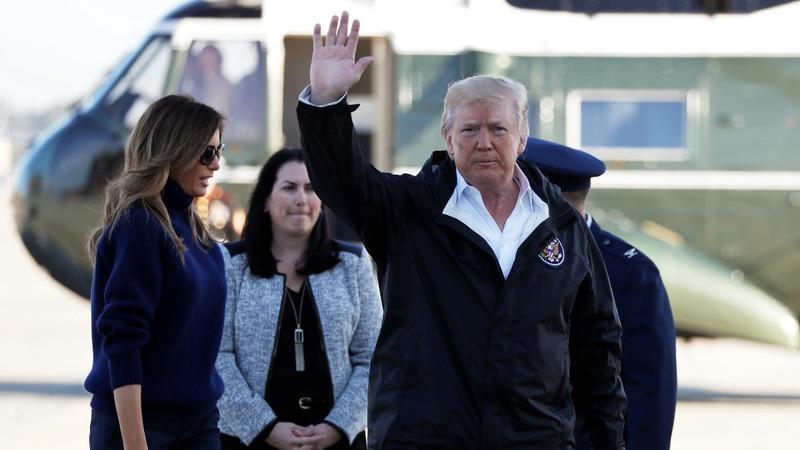 """VERBATIM: Trump calls Las Vegas gunman """"very, very sick"""""""
