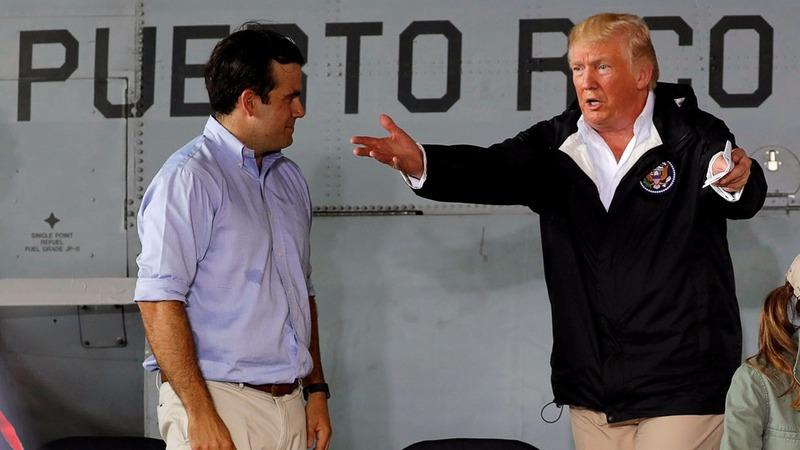VERBATIM: Puerto Rico threw budget 'out of whack' - Trump