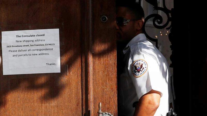 Russia accuses U.S. of 'break-in' at San Francisco consulate