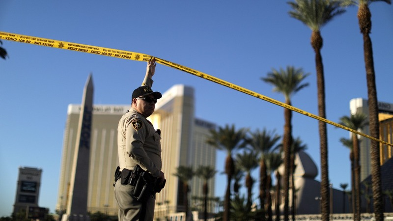 Police find more firearms, no motive in Vegas attack