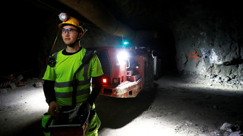 Robots under Swedish forest breathe life into ancient mines
