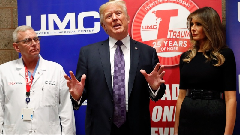 VERBATIM: Trump mum on America's 'gun violence problem'