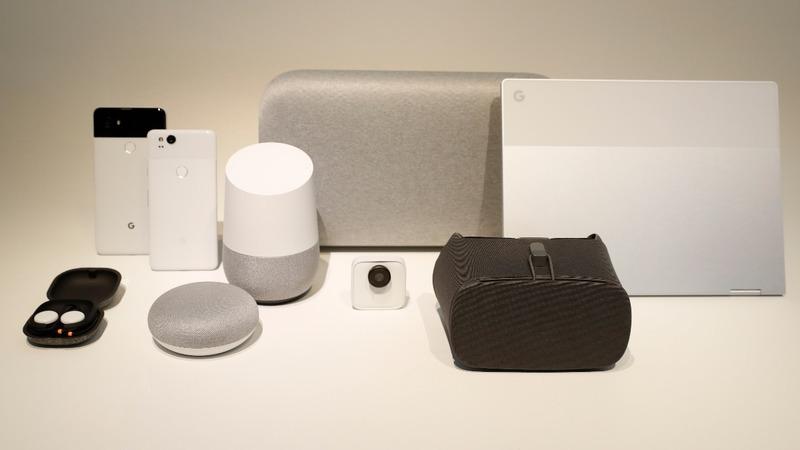 Google launches new phones, speakers in hardware push