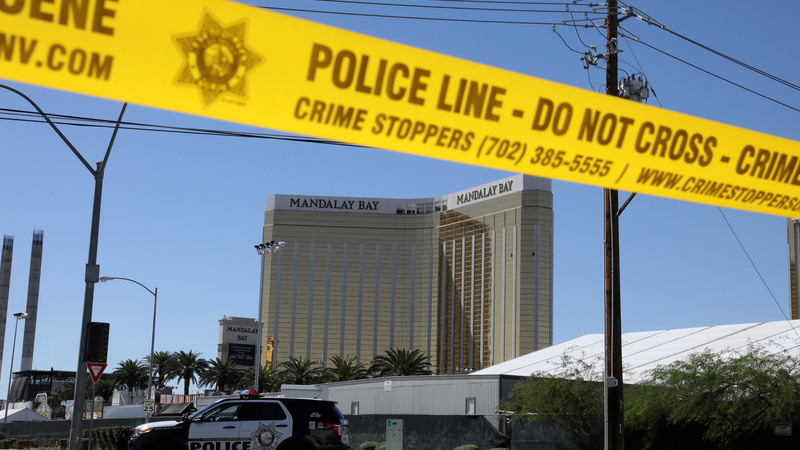 Vegas gunman stockpiled guns for decades