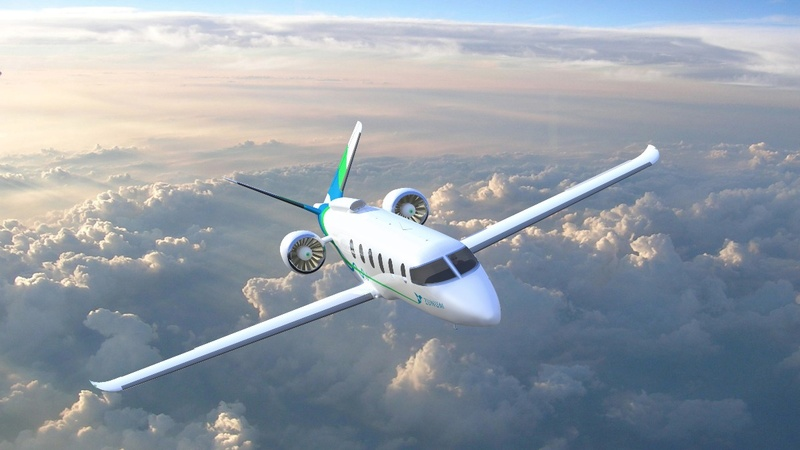 Boeing backs electric-hybrid plane 2022 launch