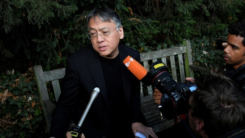 Kazuo Ishiguro takes Nobel Prize for Literature