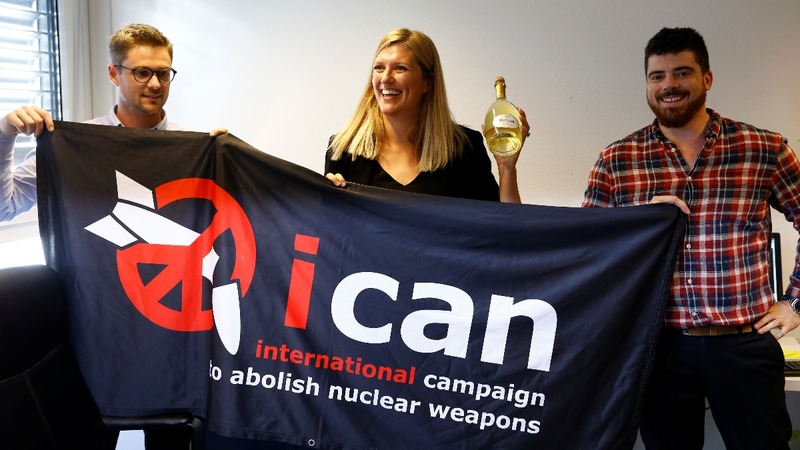 Anti-nuclear coalition wins the Nobel Peace Prize
