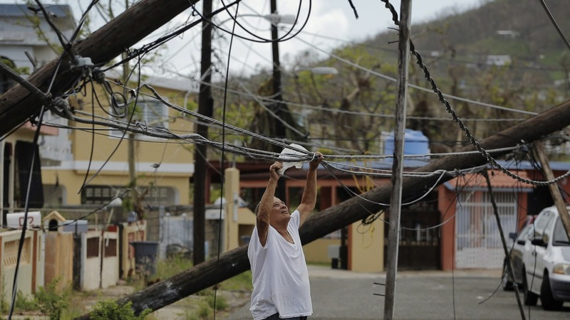 FEMA site removes stats about water, power in Puerto Rico