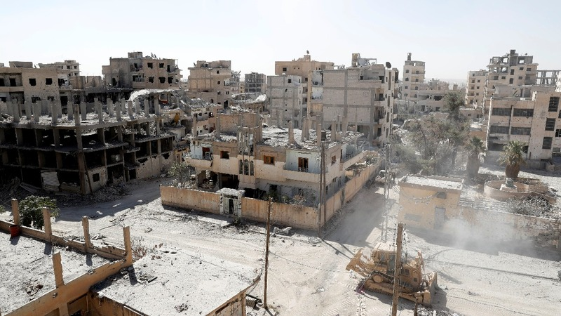 Debris and dust: Raqqa 'sacrificed' to defeat IS