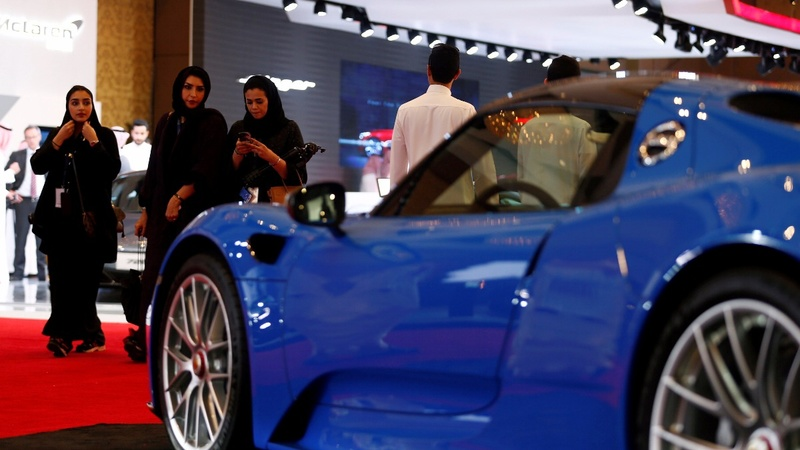 Saudi car show opens its doors to women