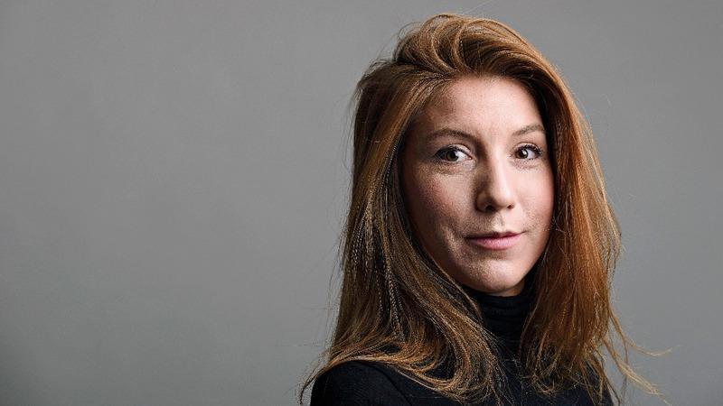 Danish divers find head of journalist Kim Wall