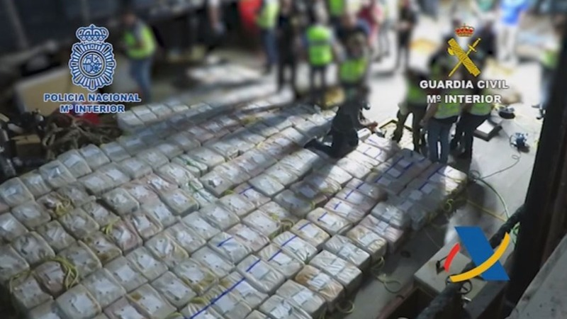 INSIGHT: Over four tons of cocaine seized in the Atlantic