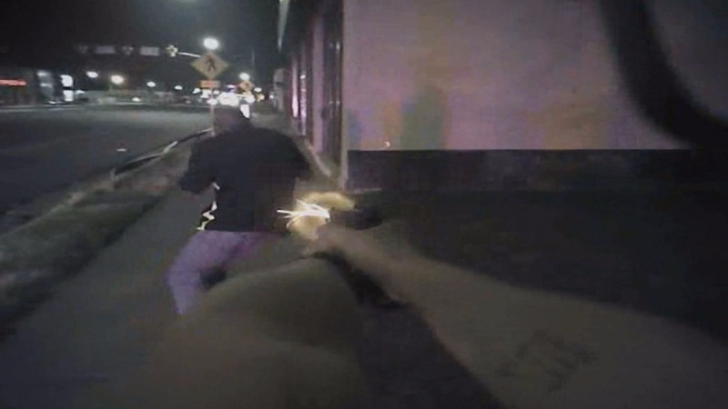 Video shows cop shooting black man trying to flee