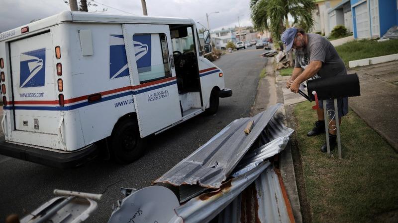 U.S. mail carriers emerge as heroes in Puerto Rico